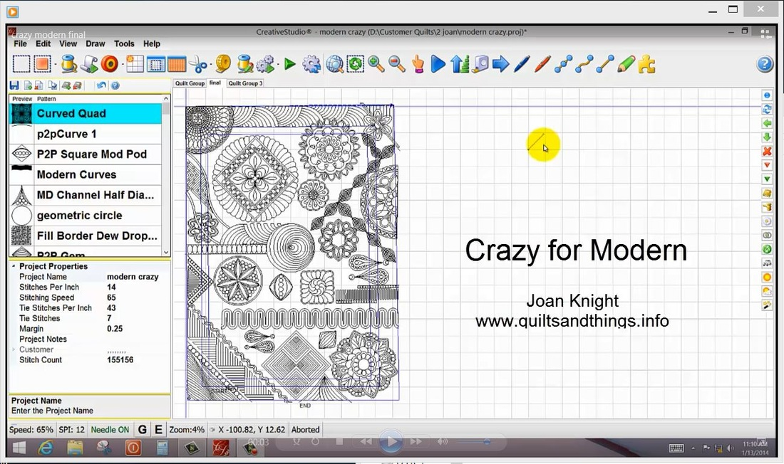 Joan Knight's Videos - Anita Shackelford : quilt program - Adamdwight.com